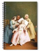 Longhi's The Stimulated Faint Spiral Notebook