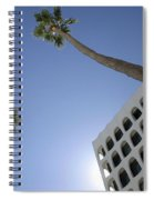 Looking Up In Beverly Hills Spiral Notebook