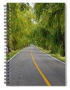 Lovers Lane Spiral Notebook