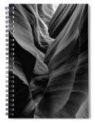 Lower Antelope Canyon Spiral Notebook