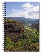 Lower Waimea Canyon Spiral Notebook