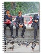 Lunch Dilemma Spiral Notebook