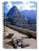 Machu Picchu Peru Spiral Notebook