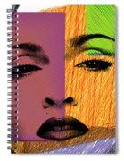 Madonna  Spiral Notebook