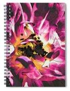 Magenta Rose Spiral Notebook