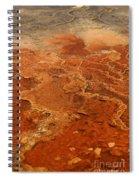 Mammoth Hot Springs Spiral Notebook