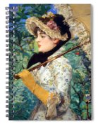 Manet's Spring Spiral Notebook