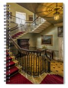Mansion Stairway Spiral Notebook