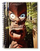 Maori Carving Spiral Notebook