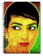 Maria Callas Spiral Notebook