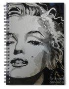 Marilyn Monroe 01 Spiral Notebook