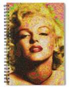 Marilyn Monroe - 100 Dollars Spiral Notebook