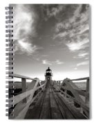 Marshall Point Light Spiral Notebook