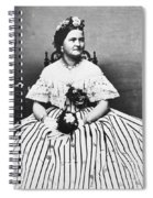 Mary Todd Lincoln (1818-1882) Spiral Notebook