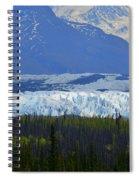 Matanuska Glacier Spiral Notebook