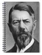 Max Weber (1864-1920) Spiral Notebook