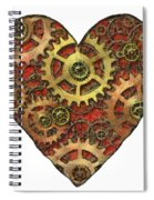 Mechanical Heart Spiral Notebook