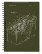Medical Examining Table Patent 1974 Spiral Notebook