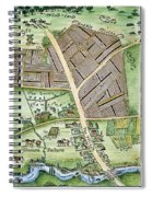 Medieval English Manor Spiral Notebook