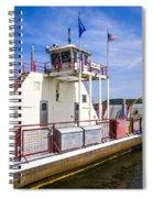 Merrimac Ferry - Wisconsin Spiral Notebook