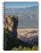 Meteora, Thessaly, Greece. The Eastern Spiral Notebook