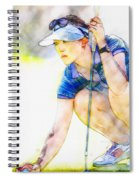 Michelle Wie - Third Round Of The Lpga Lotte Championship Spiral Notebook