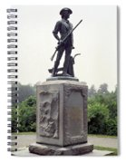 Minutemen Soldier Spiral Notebook