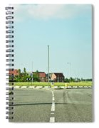 Modern Road Spiral Notebook