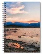 Mono Lake Sunset Spiral Notebook