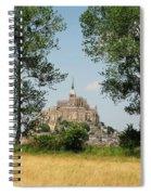 Mont St. Michel Spiral Notebook