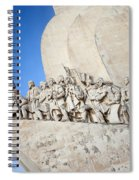 Monument To The Discoveries In Lisbon Spiral Notebook