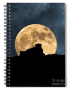 Moonstruck Over Tuscany Spiral Notebook