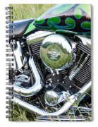 More Chrome Spiral Notebook