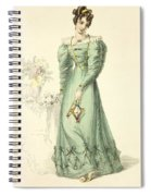 Morning Dress, Fashion Plate Spiral Notebook