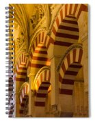 Mosque Cathedral Of Cordoba  Spiral Notebook
