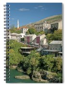 Mostar In Bosnia Herzegovina Spiral Notebook