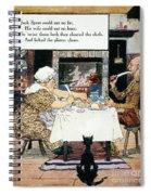 Mother Goose, 1915 Spiral Notebook
