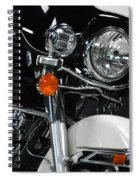 Motorcycle Spiral Notebook