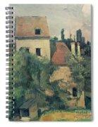 Moulin De La Couleuvre At Pontoise Spiral Notebook