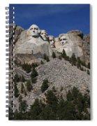Mount Rushmore Spiral Notebook