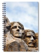 Mount Rushmore Monument Spiral Notebook