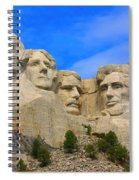 Mount Rushmore South Dakota Spiral Notebook