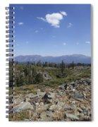 Mount Tallac Trailhead  Spiral Notebook