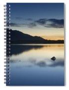 Mountain Light Spiral Notebook