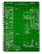 Mouse Trap Board Game Patent 1962 - Green Spiral Notebook