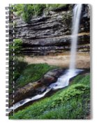 Munising Falls Spiral Notebook