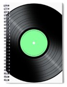 Music Record Spiral Notebook