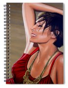 Natalie Imbruglia Painting Spiral Notebook
