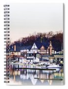 On Boathouse Row Spiral Notebook