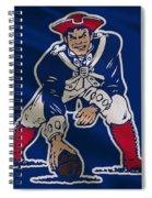 New England Patriots Uniform Spiral Notebook